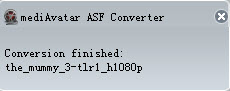 how to convert ASF files