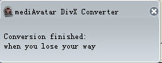 how to convert videos to DivX files