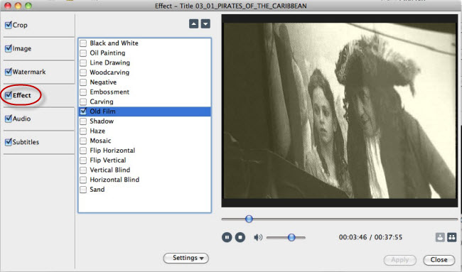 Convert DVD to videos Mac