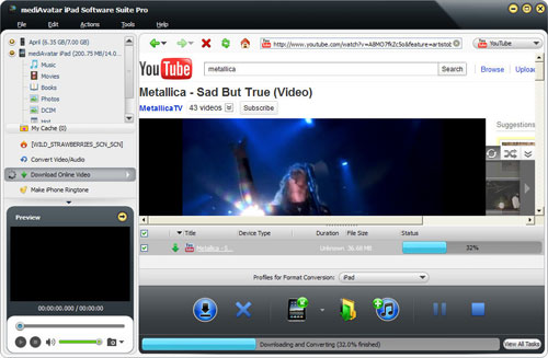online video downloader for iPad