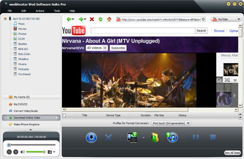 How to download youtube videos to iPod touch
