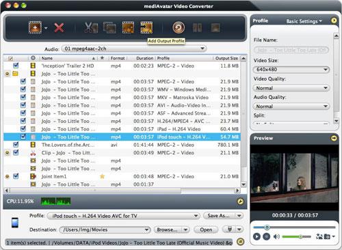 conver videos on Mac computer